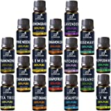 ArtNaturals Aromatherapy Top-16 Essential Oil Set - (16 x 10ml Bottles) - 100% Pure of the Highest Therapeutic Grade Quality - Premium Gift Set – Lavender, Peppermint, Tea Tree, Eucalyptus