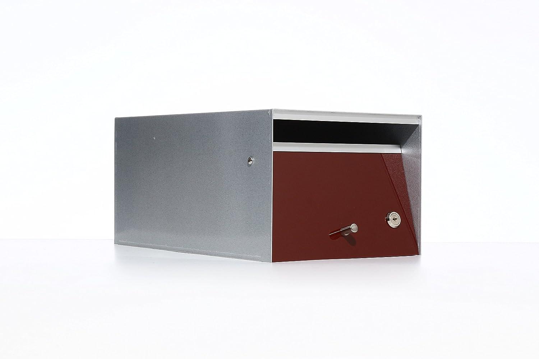 Box Design ポスト 郵便受け Urban Brown B00W6HWDGO 28620 Brown Brown