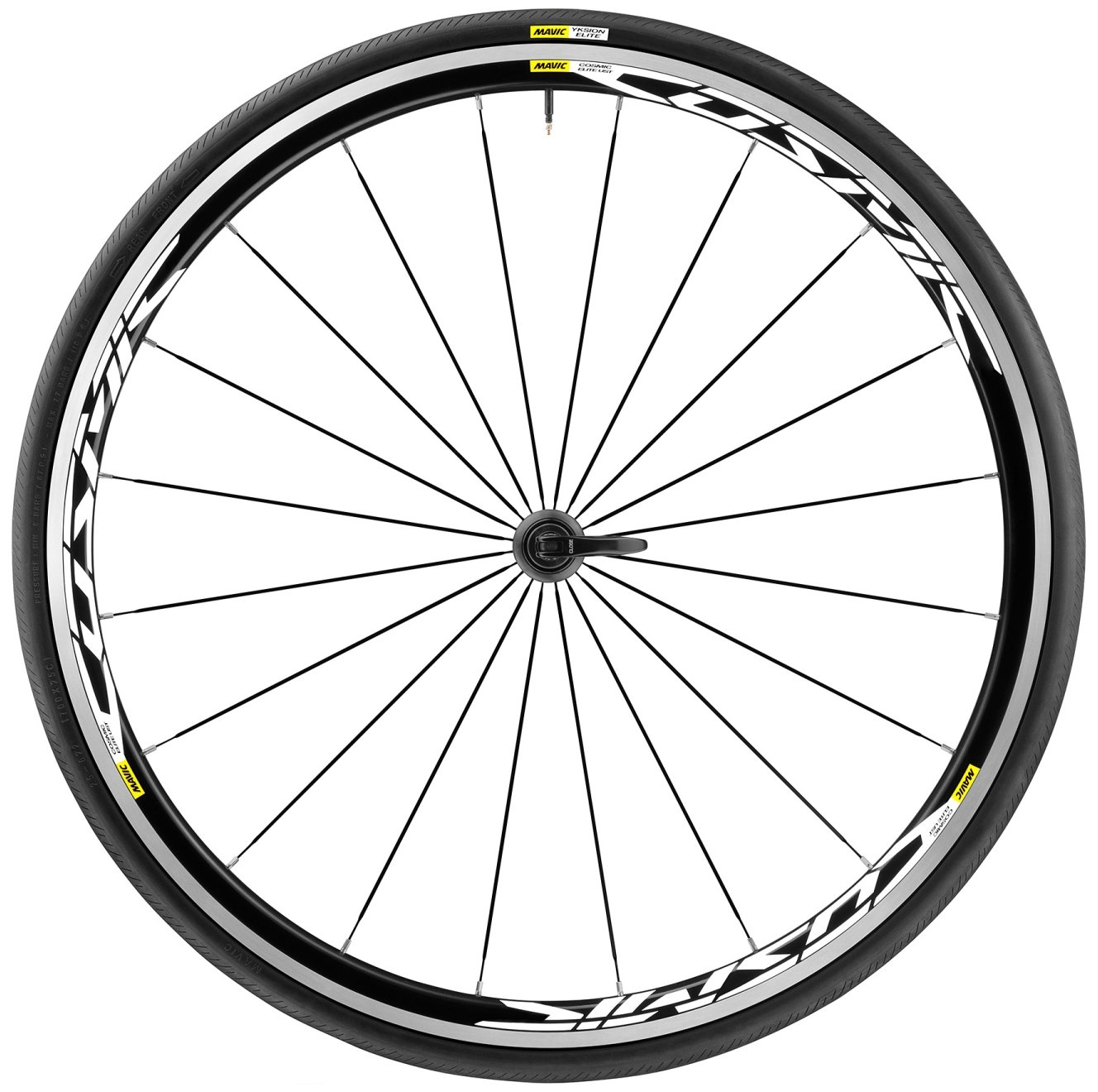 Mavic Cosmic Elite UST wheel-tyreシステムフロント25 B073HWSYFD
