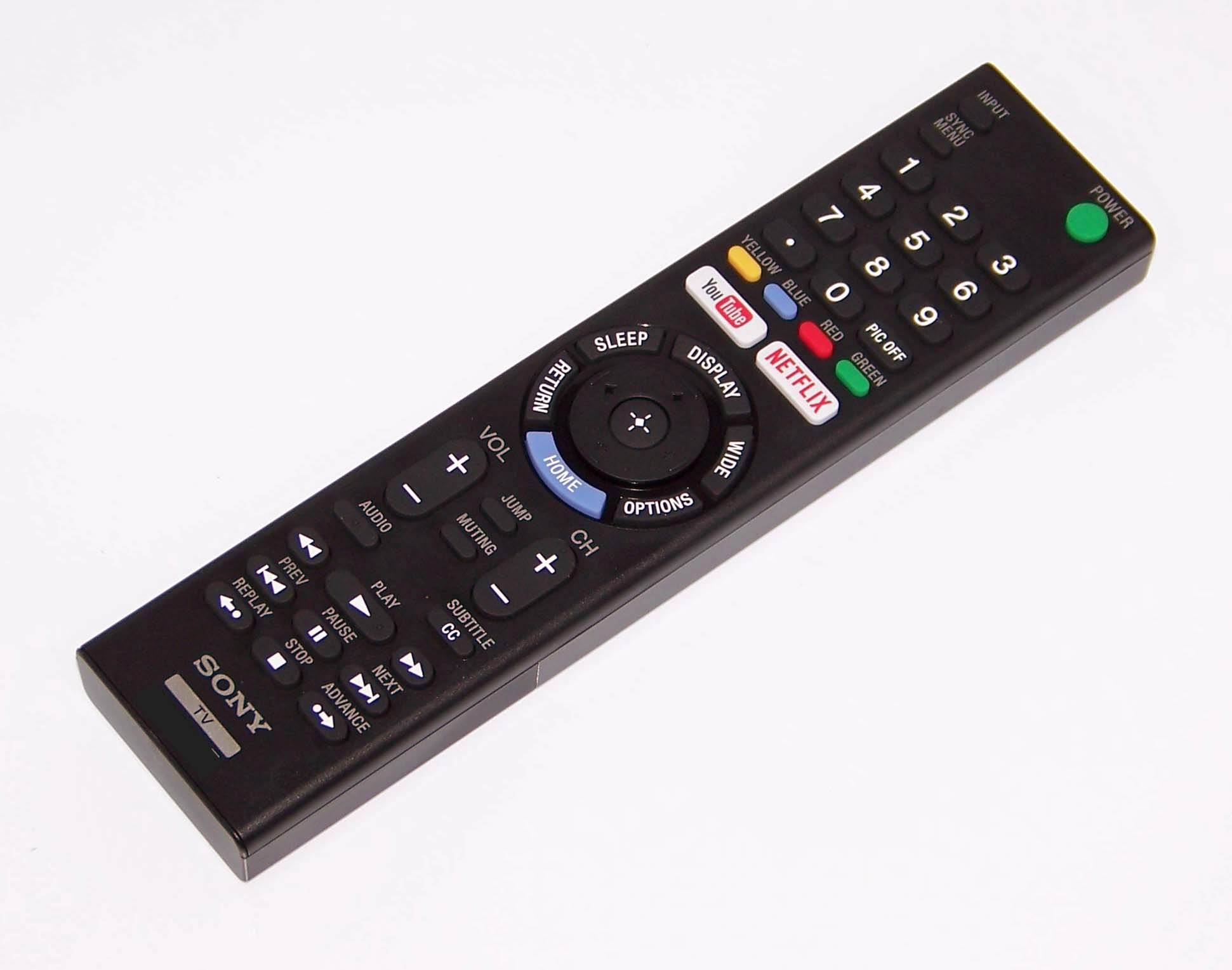 OEM Sony Remote Control Originally Shipped With: KD49X720E, KD-49X720E, KD55X700E, KD-55X700E by Sony