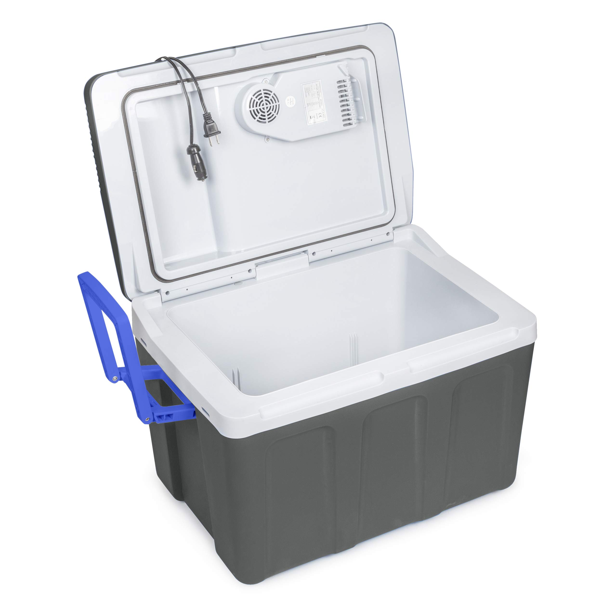K-Box Electric Cooler and Warmer with Wheels for Car and Home 45... 48 Quart