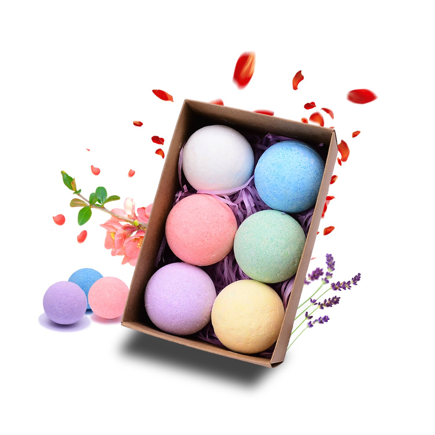 Bath Bombs Kit Gift Set