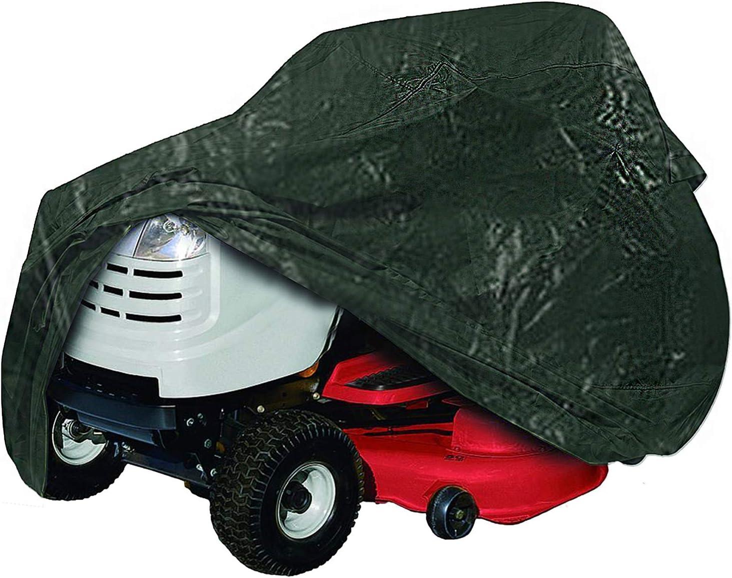 Spares2go Cubierta Impermeable para Tractor de césped para AL-KO Westwood Castelgarden Mountfield Lawn-King (Lazo de Cuerda con Ojales)