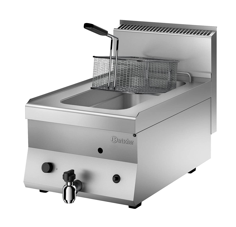 Bartscher - Professionele gas friteuse 8 liter, design: Amazon.es: Hogar