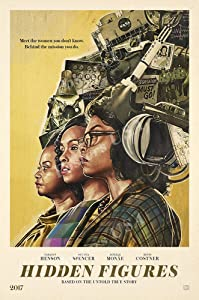 """Hidden Figures Movie Poster Glossy Finish Made in USA - MOV551 (24"""" x 36"""" (61cm x 91.5cm))"""
