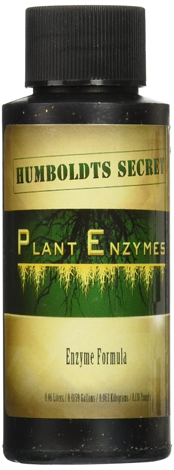 Best Plant and Root Enzymes - Humboldts Secret Plant Enzymes - 7,000 Active Units of Enzyme per Milliliter. (2 Ounce)