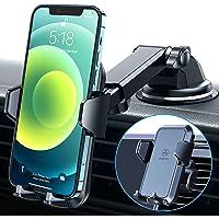 VANMASS Mobiltelefonhållare bil 3 i 1 ventilation och sugkopp stabil 100 % silikonskydd mobiltelefonhållare för bil…