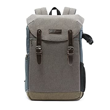 Amazon.com : BAGSMART Camera Backpack with 15.6 Inch Laptop ...