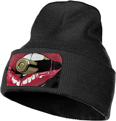 Red Mouse Crooks Castles Mens Womens Winter Warm Serious Style Beanie Hat Skull Chunky Cuff Beanie