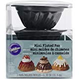 Wilton 2105-0088 Fluted Pan, Mini, Set of 3