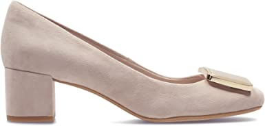 Recuerdo La Iglesia metal  Clarks Chinaberry Fun Suede Shoes In Blush Standard Fit Size 5½:  Amazon.co.uk: Shoes & Bags