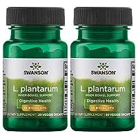 Swanson L. Plantarum Probiotics Bowel Regularity Gas Bloating Immune Support Gastrointestinal...