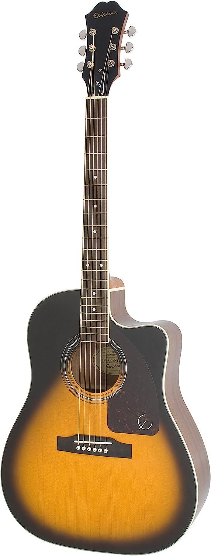 Epiphone AJ-220SCE - Guitarras electroacústicas, color natural ...