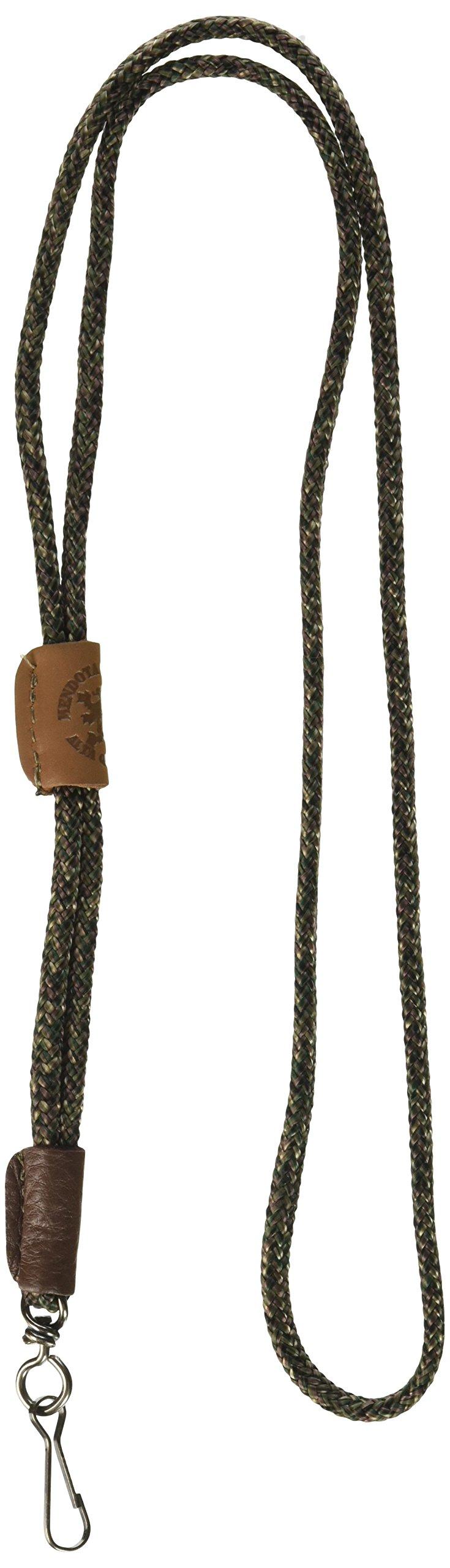 Mendota Pet Single Lanyard Whistle, 1/8 by 25-Inch, Camo