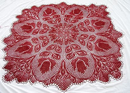 Amazon Lyra A Knitted Lace Pattern By Herbert Niebling Print