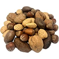 NUTS U.S. – Mixed Nuts In Shell (Almonds, Walnuts, Hazelnuts, Pecans, Brazil Nuts) | No Added Colors and No Artificial…