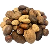 NUTS U.S. – Mixed Nuts In Shell (Almonds, Walnuts, Hazelnuts, Pecans, Brazil Nuts) | No Added Colors and No Artificial Flavor