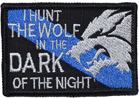 Sheepdog Hunt The Wolf 2x3 Patch