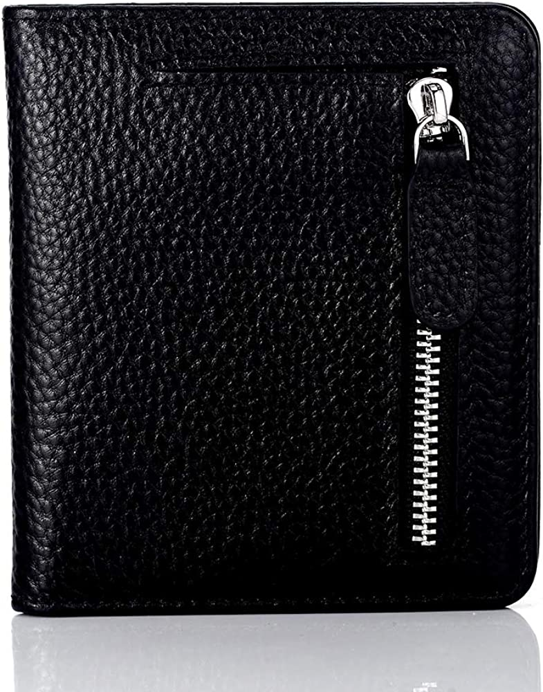 fc8a328b4be7 FUNTOR Leather Wallet for women, Ladies Small Compact Bifold Pocket ...