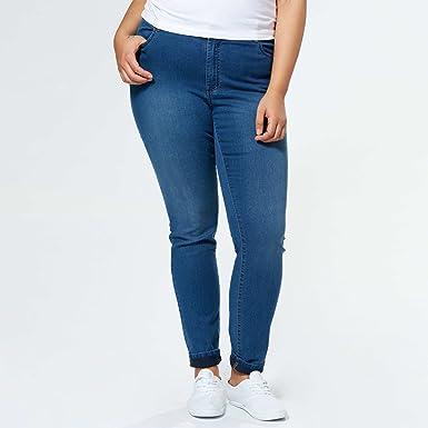2190a32411e6 KIABI Jean skinny 5 poches entrejambe 84 cm noir 54  Amazon.fr  Vêtements  et accessoires