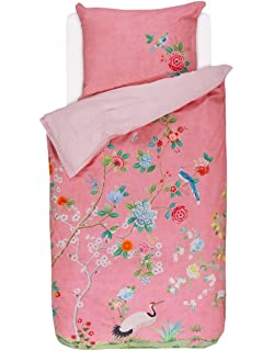 Pip Studio Wendebettwäsche Nilgirig Pink 135x200 Cm 80x80 Cm