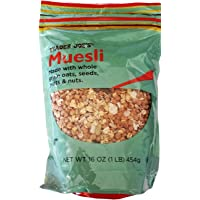 Trader Joes Muesli Made with Whole Grain Oats, Seeds, Fruits & Nuts