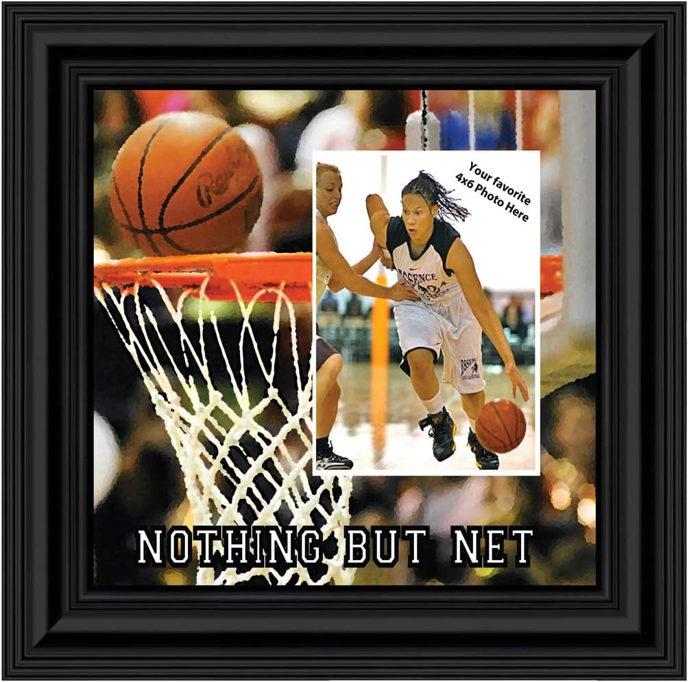 Amazon Com Personally Yours Basketball Picture Frame Great Team Gift Ideas Or Gifts For Coaches Basketball 9712b