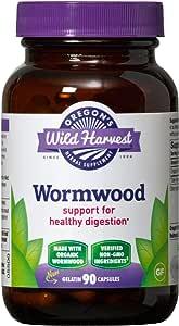 Oregon's Wild Harvest Wormwood Organic Herbal Supplement, 90 Count