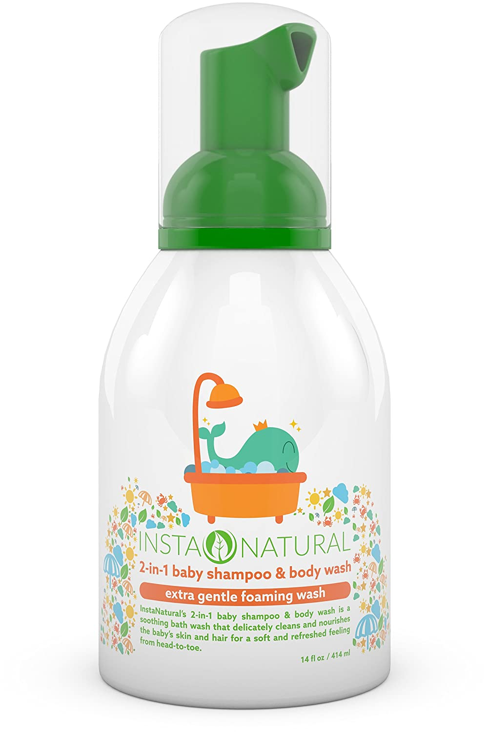 Instanatural Baby Shampoo Body Wash With Aloe Vera Vitamin E Cussons Oil Soft And Smooth 100 100ml Lavender Fruit Extracts Soothing 2 In 1 Formula For Skin Hair