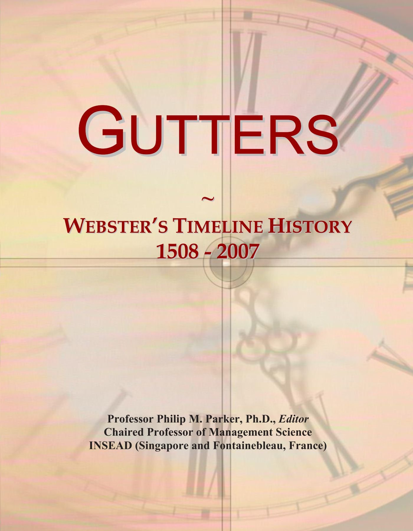 Gutters Websters Timeline History 1508 2007 Icon Group