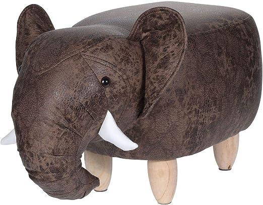 DSM24 - Taburete (64 x 35 x 29 cm), diseño de Elefante, Elefante ...