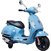 Blazin Wheels 6V Vespa GTS Super Sport Ride-On Scooter