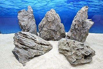 Haustierbedarf Aquarium Steine