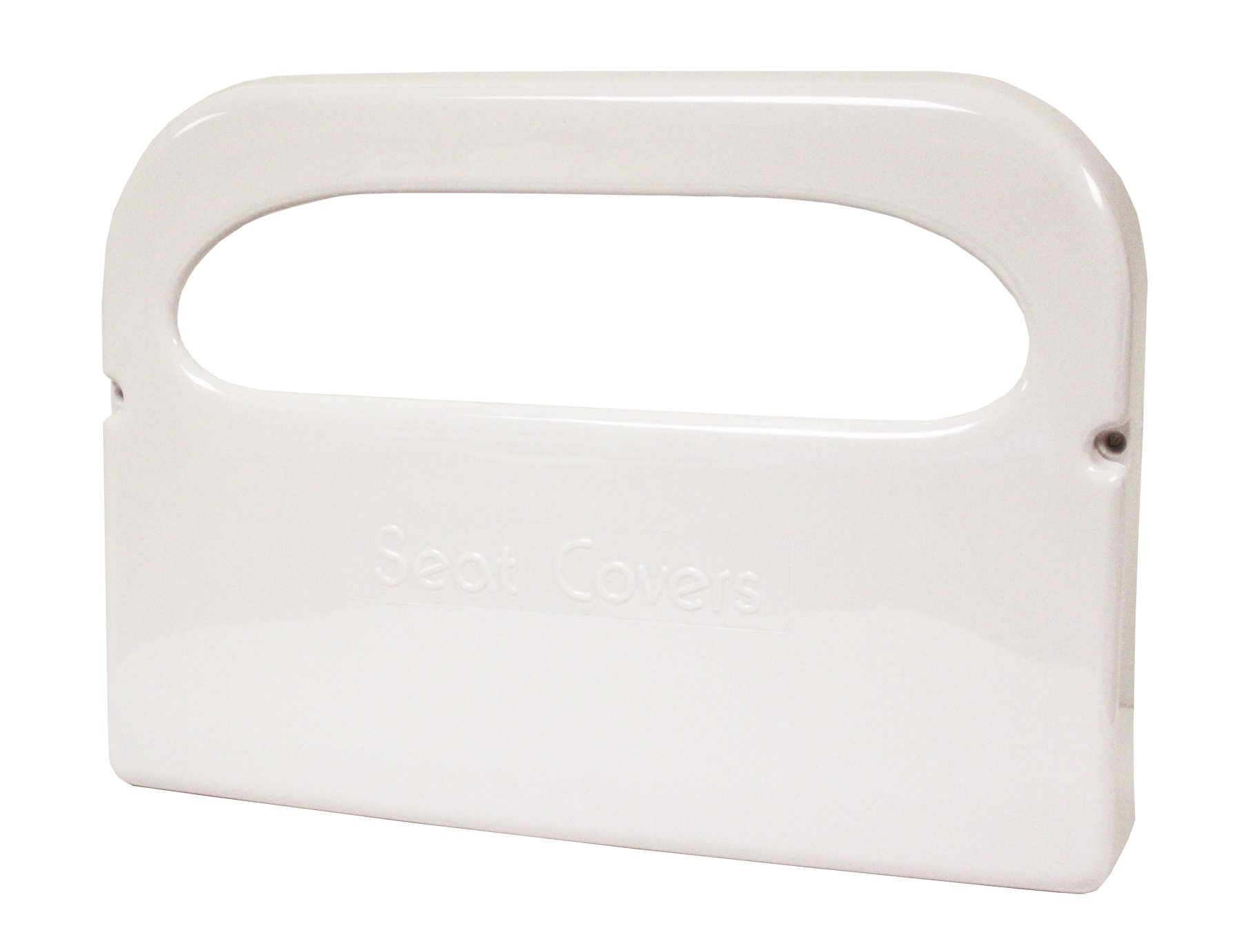 Palmer Fixture TS0142-03 1/2'' Fold Toilet Seat Cover Dispenser, White Translucent (Pack of 20)