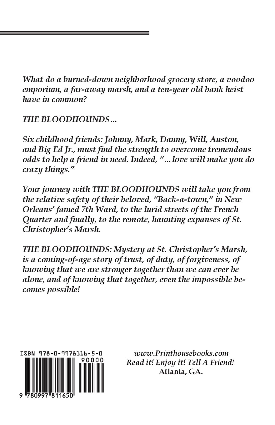 Amazon.com: The Bloodhounds: Mystery at St. Christopher's Marsh ...