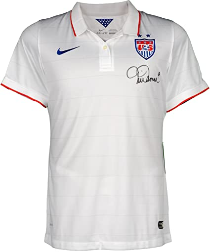 Mia Hamm Team USA Autographed Nike White Replica Jersey - Fanatics Authentic Certified - Autographed Soccer