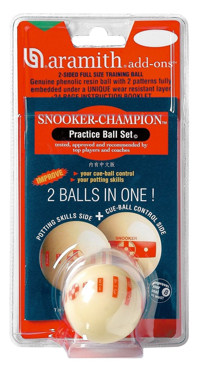 Trainingsspiel mit Snooker-Trainingskugel 52, 4mm von Aramith 30165169