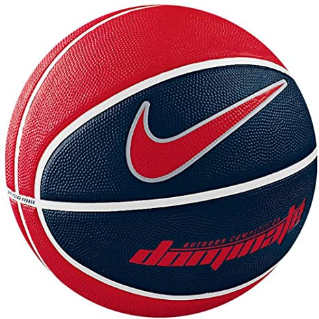 promo code 854de 280f0 Buy Nike Dominate Basketball, Size 7 (Red Blue White) Online at Low Prices  in India - Amazon.in
