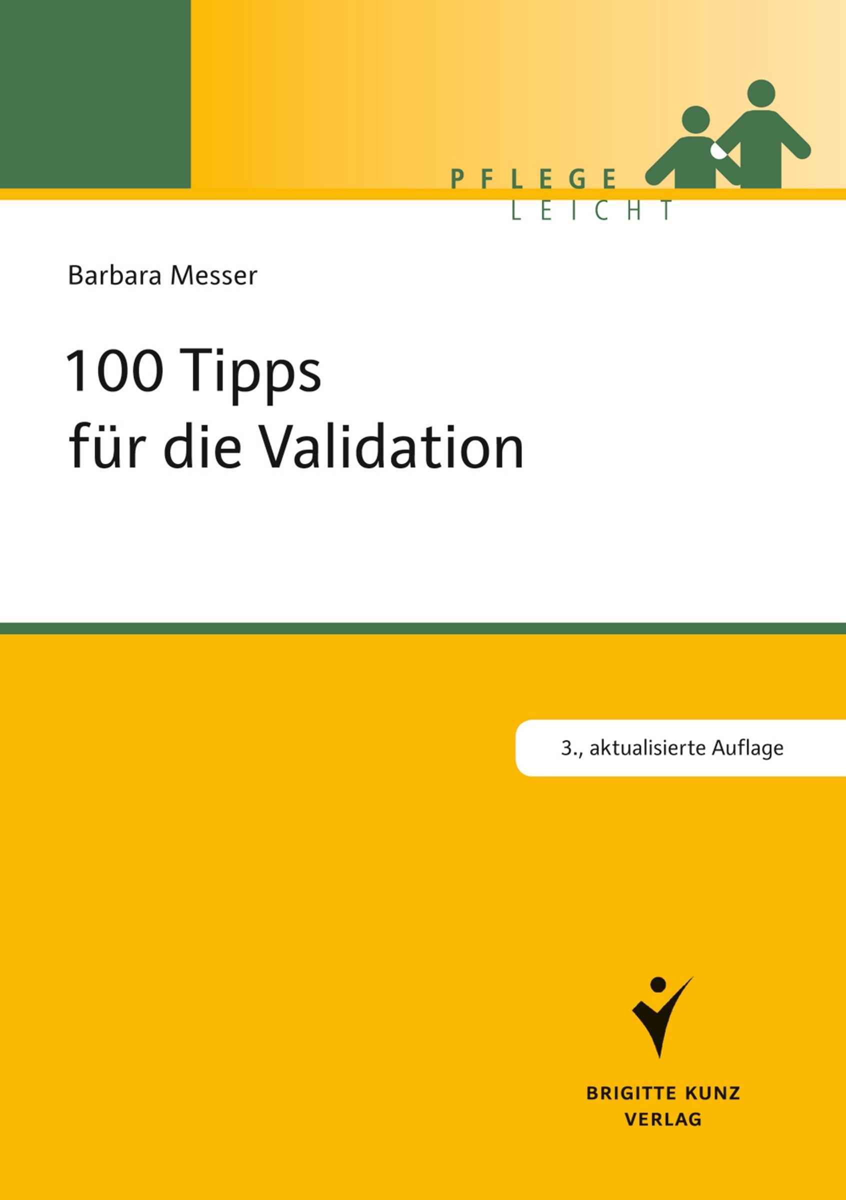 100 Tipps Für Die Validation  Pflege Leicht