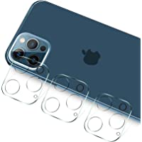 TERSELY Camera Lens Protector for iPhone 12 Pro Max 6.7 inch 2020, [3 Pack] 9H Ultra-Thin Transparent Camera Lens…