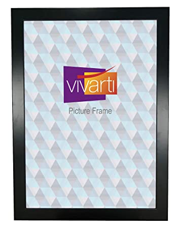 amazon wide matt black ready made picture frame a2 size 59 4 x