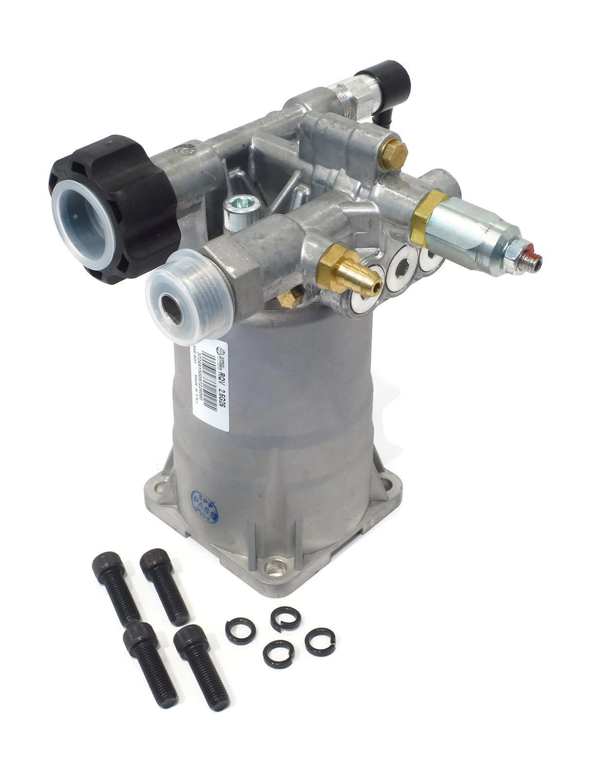 Annovi Reverberi 2600 PSI Pressure Washer Pump for Excell EXH2425 with Honda Engines w/Valve by The ROP Shop