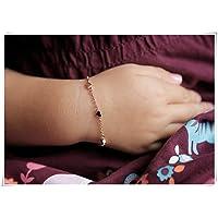 Tiny Hearts Bracelet, Infant Bracelet, Baptism Gift, baby Bracelet, Girl Bracelet,