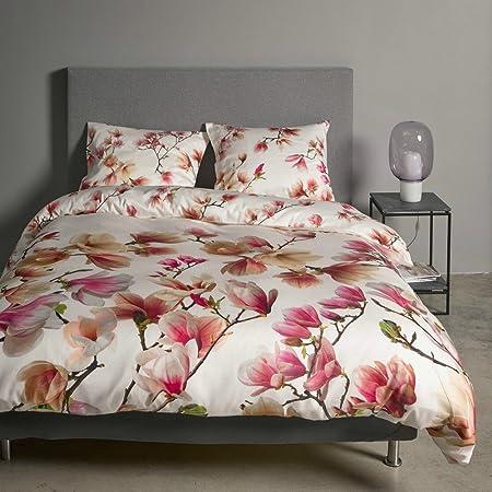 Copripiumino Matrimoniale Satin.Parure Copripiumino Matrimoniale Essenza Home Magnolia Cotone