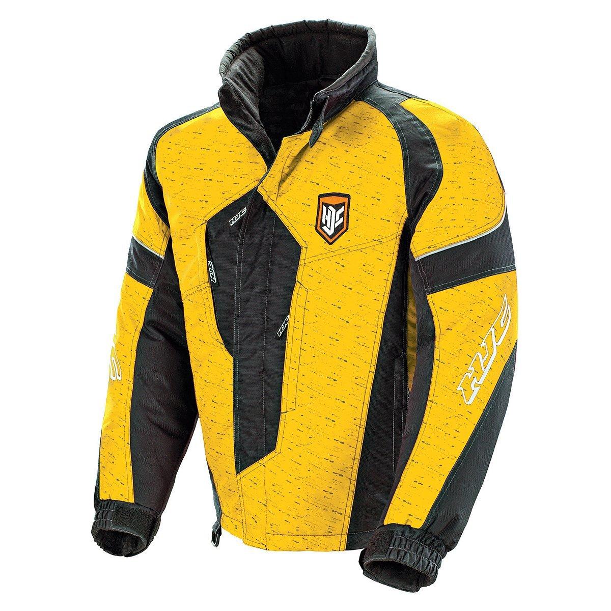 HJC Storm Men's Snow Jacket (Green/Black, Large) 1501-044