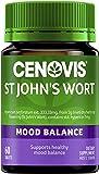 Cenovis St John's Wort Tablets - Supports healthy mood balance, 60 Tablets