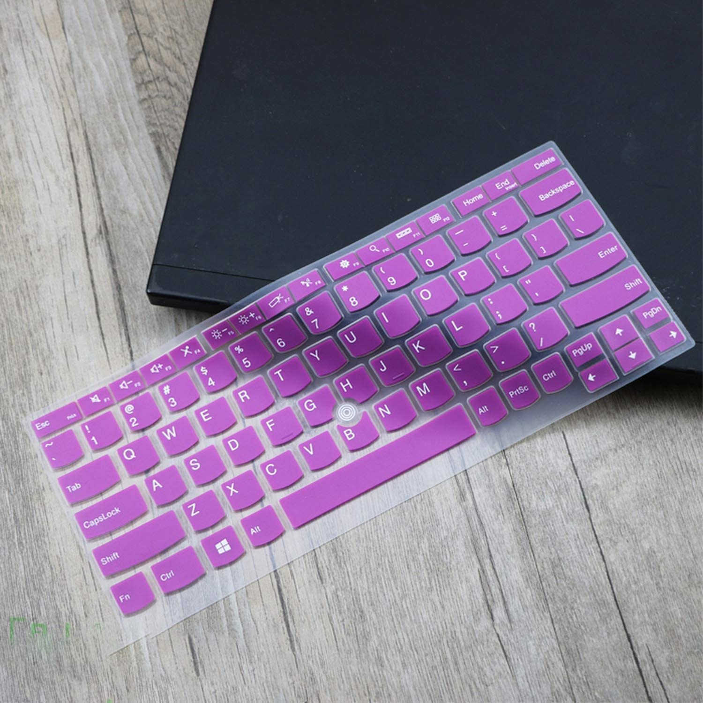 for Lenovo Thinkpad X280 x380 X390 2019 X270 X260 Silicone Laptop Keyboard Cover Protector X240 X240S X250-purple