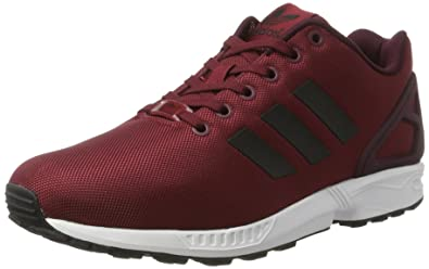adidas ZX Flux, Chaussures de Running Homme, Rouge (Collegiate Burgundy/Core Black