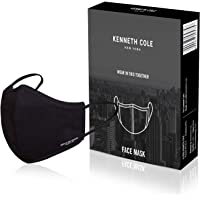 KENNETH COLE 6 Layer Lightweight Cotton Cloth Face Mask Respirator For Virus, Heat, Dust & Pollution Protection Filter…