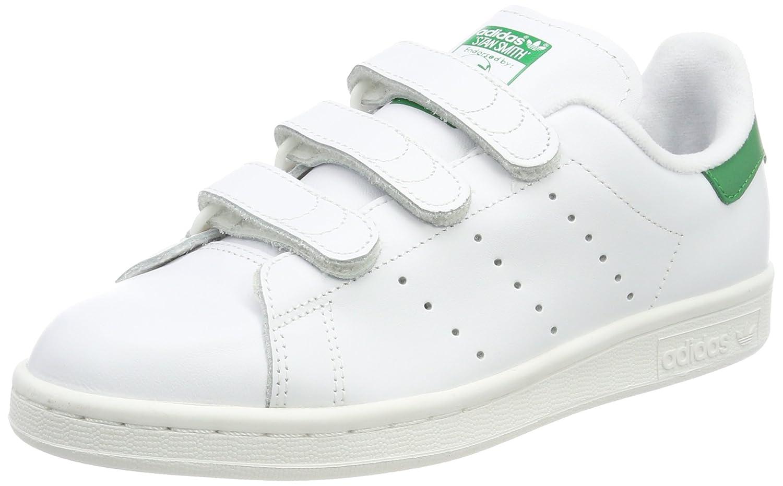 MultiCouleure (Ftwr blanc Ftwr blanc vert S75187) Adidas Stan Smith - Basket Mode - Homme